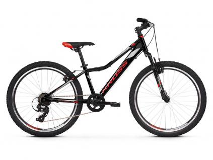 Kross HEXAGON JR 1.0 SR (Black/red/silver) 2021