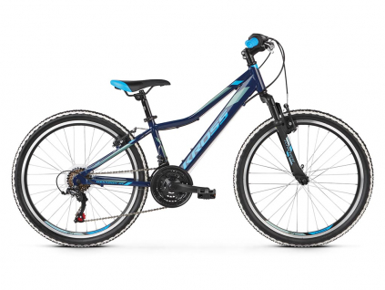 Kross HEXAGON JR 1.0 SR (Navy blue/blue/steel) 2021