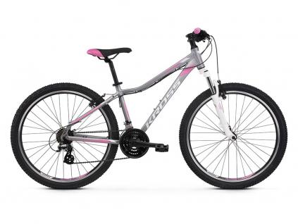 Kross LEA 2.0 SR (Silver/white/pink) 2021