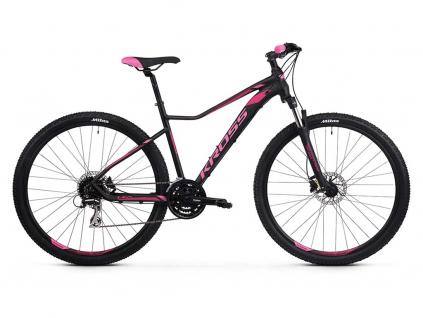 """KROSS LEA 6.0 SR 2021 27,5"""" (black/pink)   Dámské horské kolo"""