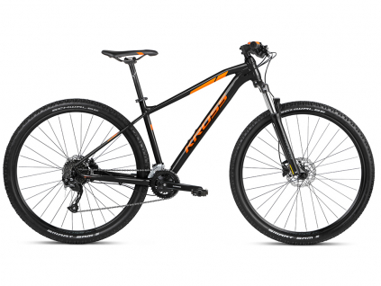 "KROSS LEVEL 1.0 SR (new frame) 2021 29"" (black/orange) 