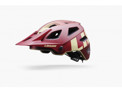 Enduro helma Limar DELTA 2021 (matt dark red) (Velikost L (57-62 cm))