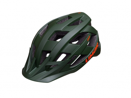matně zelená helma na kolo Limar alben