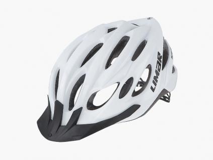 bílá helma na kolo Limar scrambler