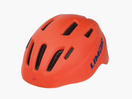 oranzova detska helma Limar 224 Superlight (matt blue)