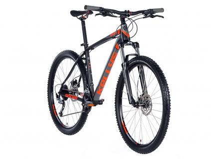 Horske kolo kellys spider 50 27,5 cerna oranzova