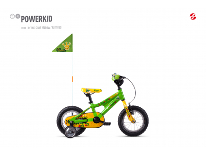 Powerkid 12 - Green / Yellow
