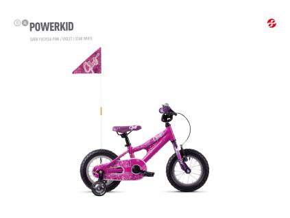 Powerkid 12 - Pink / Violet