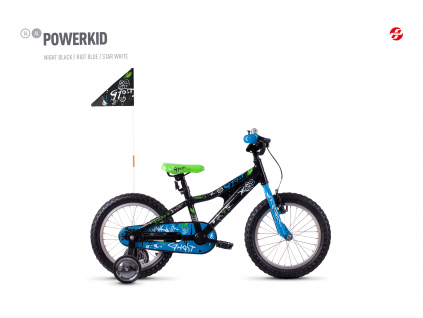 Powerkid 16 - Black / Blue