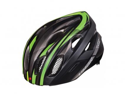 cerna zelena helma limar 555 matt black green