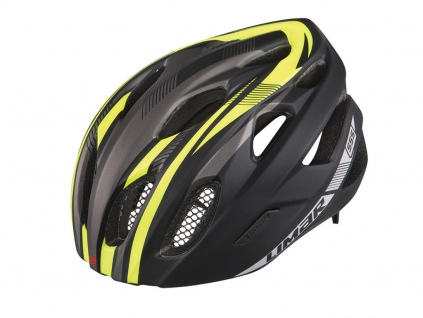 cerna zluta helma limar 555 reflective matt black