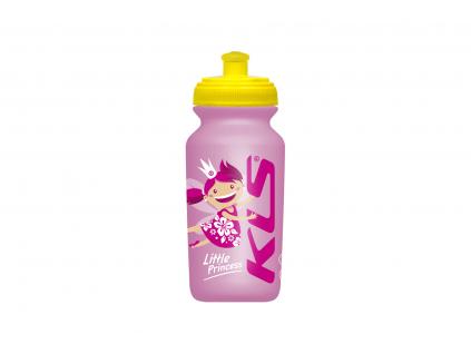 Dětská láhev na kolo RANGIPO Pink 0,3 l
