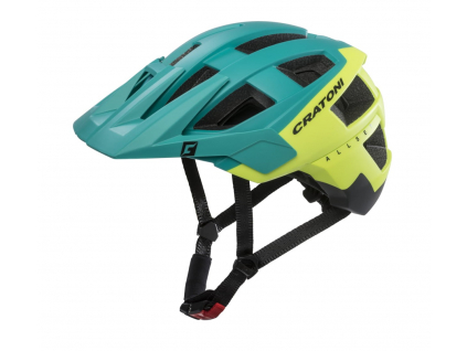Enduro helma Cratoni ALLSET  (green-yellow-black matt)