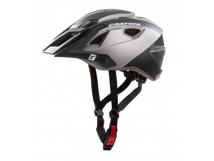 Enduro helma Cratoni AllRide black-anthracite matt
