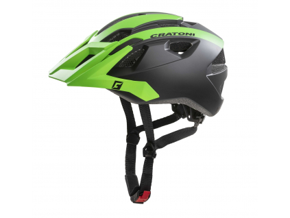 Enduro helma Cratoni AllRide black-green matt