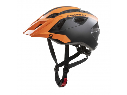 Enduro helma Cratoni AllRide orange-black matt