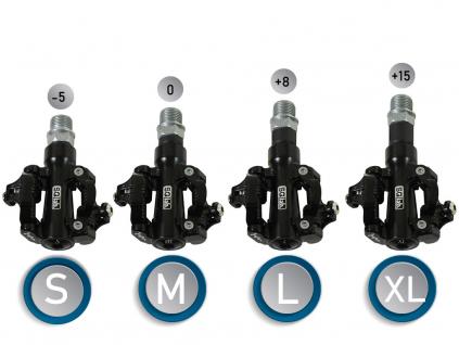 Sqlab pedaly 511 velikosti S, M, L, XL