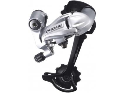 SHIMANO přehazovačka DEORE RD-M591 SGS typ 9 rychl klasická pruž stříbrná