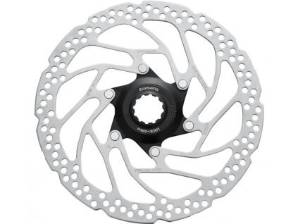 SHIMANO brzdový kotouč ALTUS SM-RT30 center lock 180 mm + lock ring pouz pro polymer des