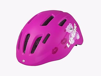Dětská helma Limar 224 (Pink Teddy)