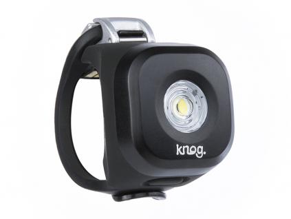 svetlo na kolo knog blinder mini DOT predni cerna