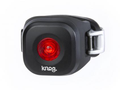cervene svetlo na kolo knog blinder mini DOT zadni cerne