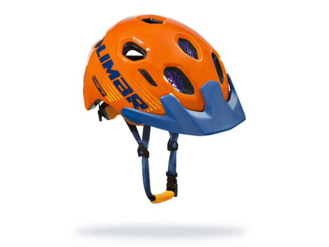 oranzovo modra detska helma champ orangeblue