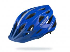 Modrá helma na kolo Limar 545 z uhlu Matt Blue
