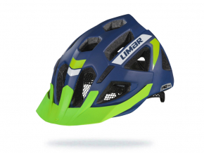 Modra helma na kolo xride reflectivemattblack