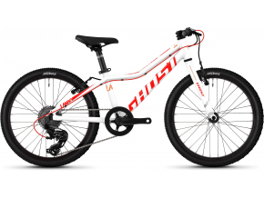 Ghost Lanao KID R1.0 (White/Red/Orange) dětské kolo 20 palců 2019