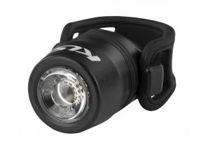 Přední světlo na kolo dobíjecí USB LED IO, black