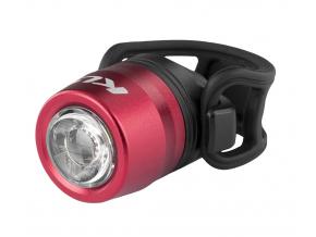 Přední světlo na kolo led dobíjecí USB IO, red