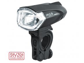 Přední světlo na kolo LED KLS TRION, black