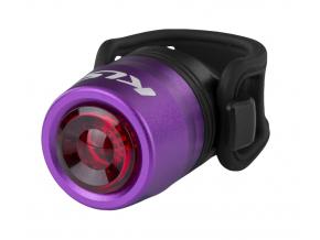 Zadní světlo na kolo dobíjecí IO USB Rear, purple
