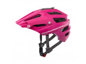 Enduro helma Cratoni ALLTRACK  pink-berry rubber