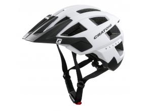 Enduro helma Cratoni ALLSET  white-black matt