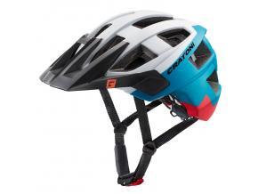 Enduro helma Cratoni ALLSET  white-blue-red matt