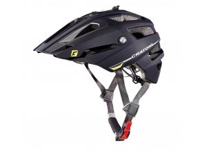 Enduro helma Cratoni ALLTRACK  black-anthracite rubber