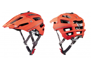Enduro helma Cratoni ALLTRACK  red-black rubber