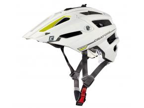 Enduro helma Cratoni ALLTRACK  white-yellow rubber