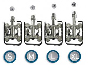 Velikostio pedalu SQlab 502 velikoat S, M, L, XLjpg