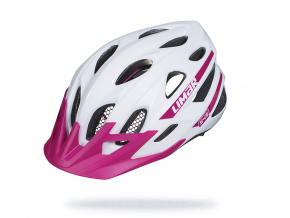 Bila helma na kolo Limar 545 Shora WhitePurple