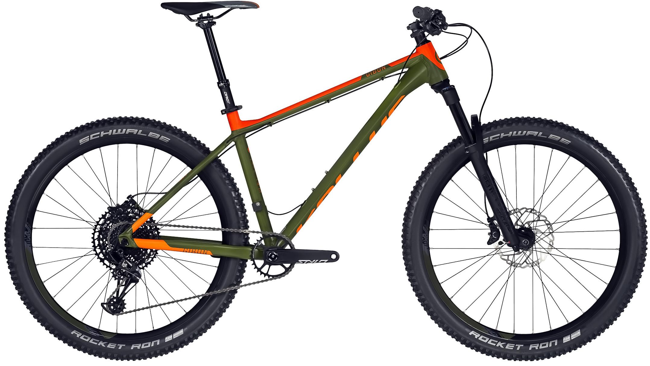 Kellys Gibon 70 2019 Modelový rok: 2019, Barva: zelená/oranžová, Velikost rámu: S