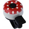 Zvonek na kolo MAX1 mini puntíky červená