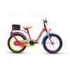 Dětské kolo S'COOL niXe chalk 16 | Červená-zelená