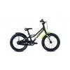 Dětské kolo S'COOL faXe 18 | Černá-zelená