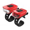 Osvětlení set KLS VEGA USB, red