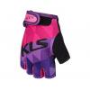Rukavice KLS YOGI short, purple, L