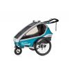 Cyklovozik qerido Kidgoo1 Sport - Petrol Blue