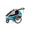 Cyklovozik qerido Kidgoo2 Sport - Petrol Blue